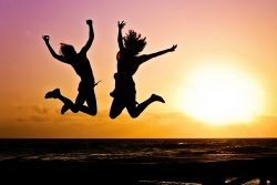 Young people jumping | Part-Time Jobs Maidstone